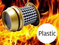 Plastic Secure to View™ Fire Resistant Viewers