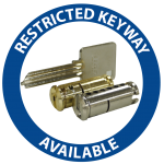 Restricted Keyway no bgd
