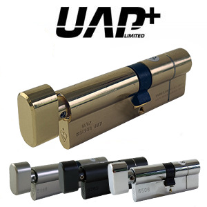 UAP+ High Security Thumb Turn 1* Kitemarked Cylinder