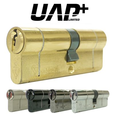 UAP+ High Security Double 1* Kitemarked Euro Cylinder