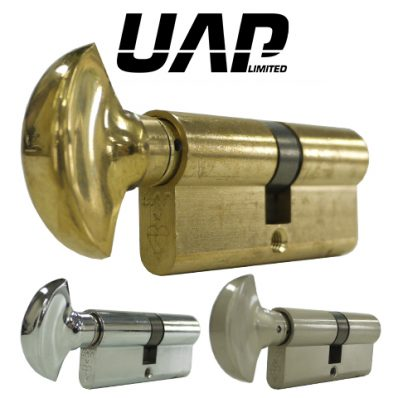 UAP Standard Security Thumb Turn 1* Kitemarked Cylinder