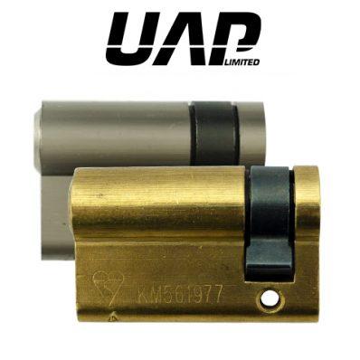 UAP Standard Security 1* Kitemarked Euro Half Cylinder