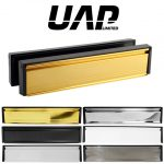 UAP Framemaster 12 Inch Stainless Steel Letterplate