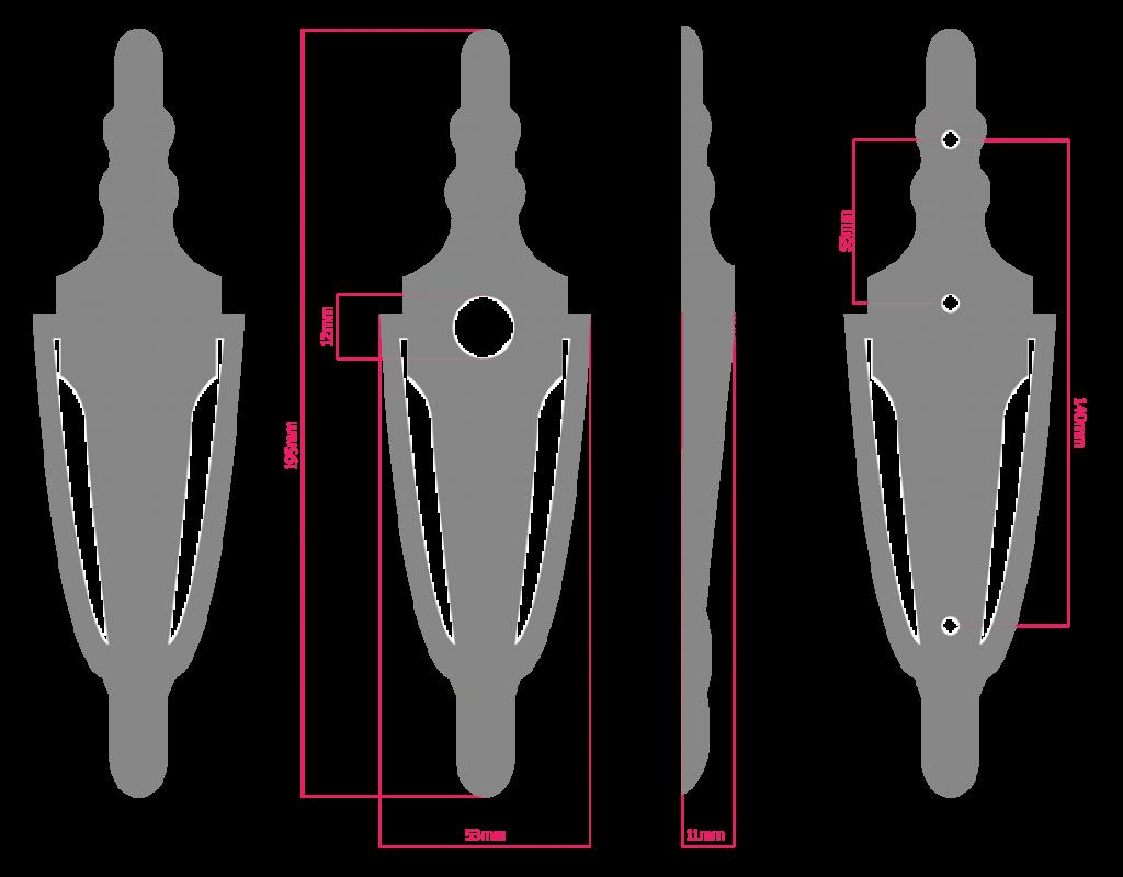 VSL bolt drawing