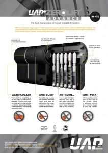 UAP+ Black Cylinder Tech Sheet front