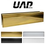 UAP All Aluminium 12 Inch Letterplate
