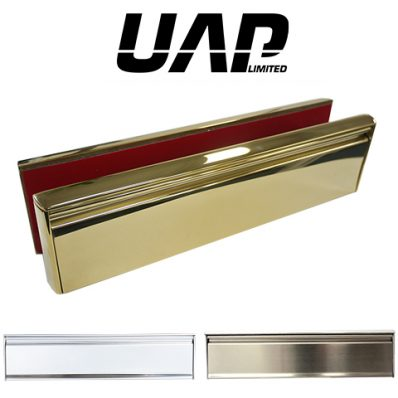 UAP All Stainless Steel 12 Inch Letterplate