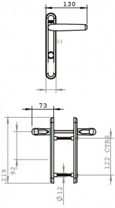 long backplate dimensions