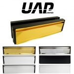 UAP Petitemaster 10 Inch Stainless Steel Letterplate