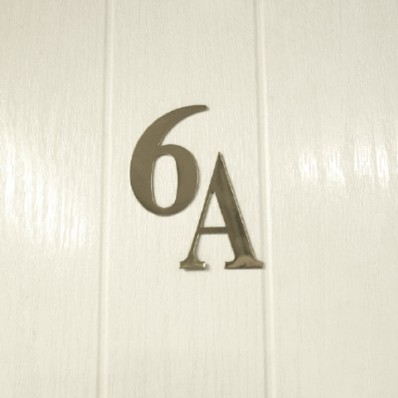 UAP 3 Inch Self Adhesive Stainless Steel Front Door Number