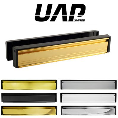 UAP 12 Inch Slimline Stainless Steel Letterplate