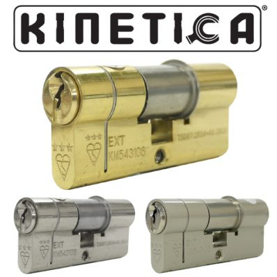 Kinetica Double 3* Kitemarked Euro Cylinder