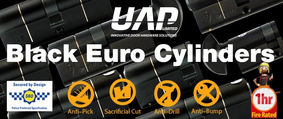 UAP Black Euro Cylinders