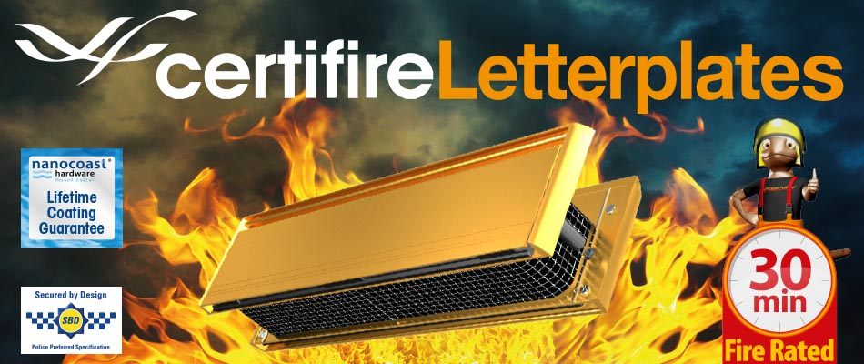UAP Certifire Letterplates