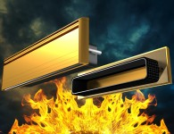 UAP All Aluminium 12 Inch Fire Resistant Letterplate