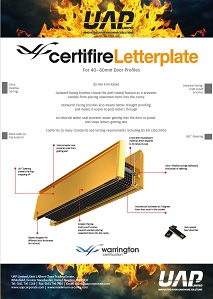certifire tech sheet front