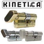Kinetica Child Safe Thumb Turn 3* Kitemarked Euro Cylinder