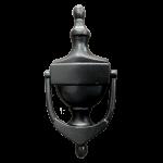 6 Inch Black Iron Victorian Urn Door Knocker