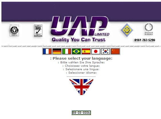 History of UAP 2006