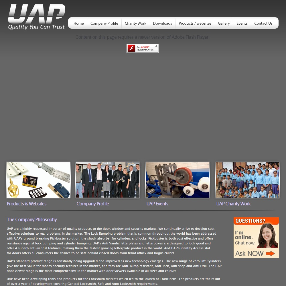 History of the UAP 2010