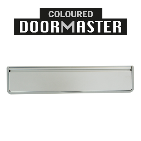 UAP 12 Inch Coloured DOORMASTER Letterplate | Modern Letterbox