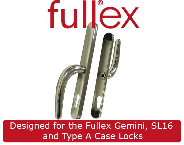 Fullex gemini front door handle for Salt resistant door handles