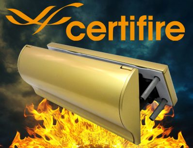 The Soterian TS008 Certifire Letterplate