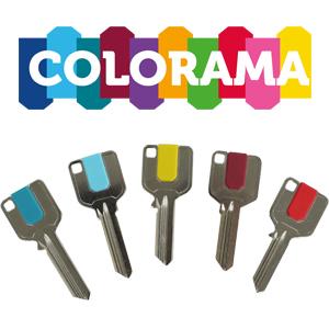 Colorama Key Blanks – Customised Key Clips