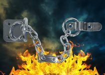 Fire Rated Door Chains
