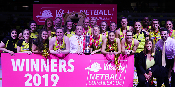 Manchester Thunder 2019 Champions
