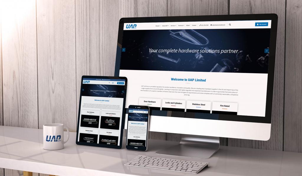 UAP Responsive Website
