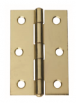 Intelligent Hardware Steel Fixed Pin Butt Hinge 75mmx49mm