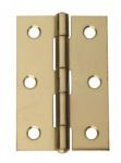 Intelligent Hardware Steel Fixed Pin Butt Hinge 75mmx49mm