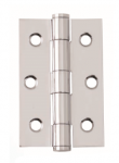 Intelligent Hardware Steel Button Tipped Hinge 75mmx50mm