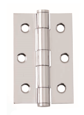 Intelligent Hardware Steel Button Tipped Hinge 75mmx50mm