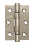Intelligent Hardware Stainless Steel Ball Bearing Butt Hinge 50mmx75mm