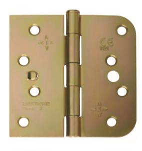 Intelligent Hardware 1 Leaf Radiused Loose Pin Strong Butt Hinge