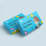 Children's 3 Layer Face Masks Box of 5