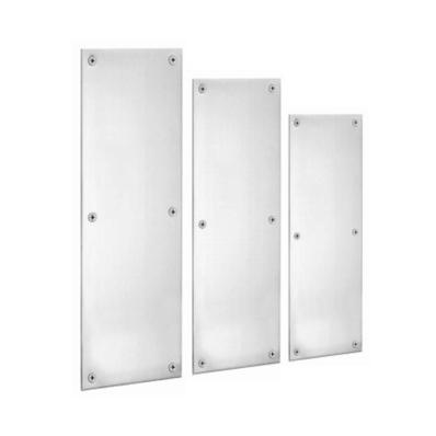 Commercial Range Push Plates