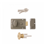 Intelligent Hardware 60mm Traditional Nightlatch with Cylinder