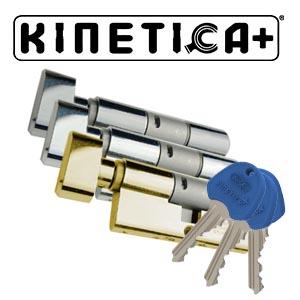 Kinetica+ K4 Helix Thumb Turn 3* Kitemarked Euro Cylinder